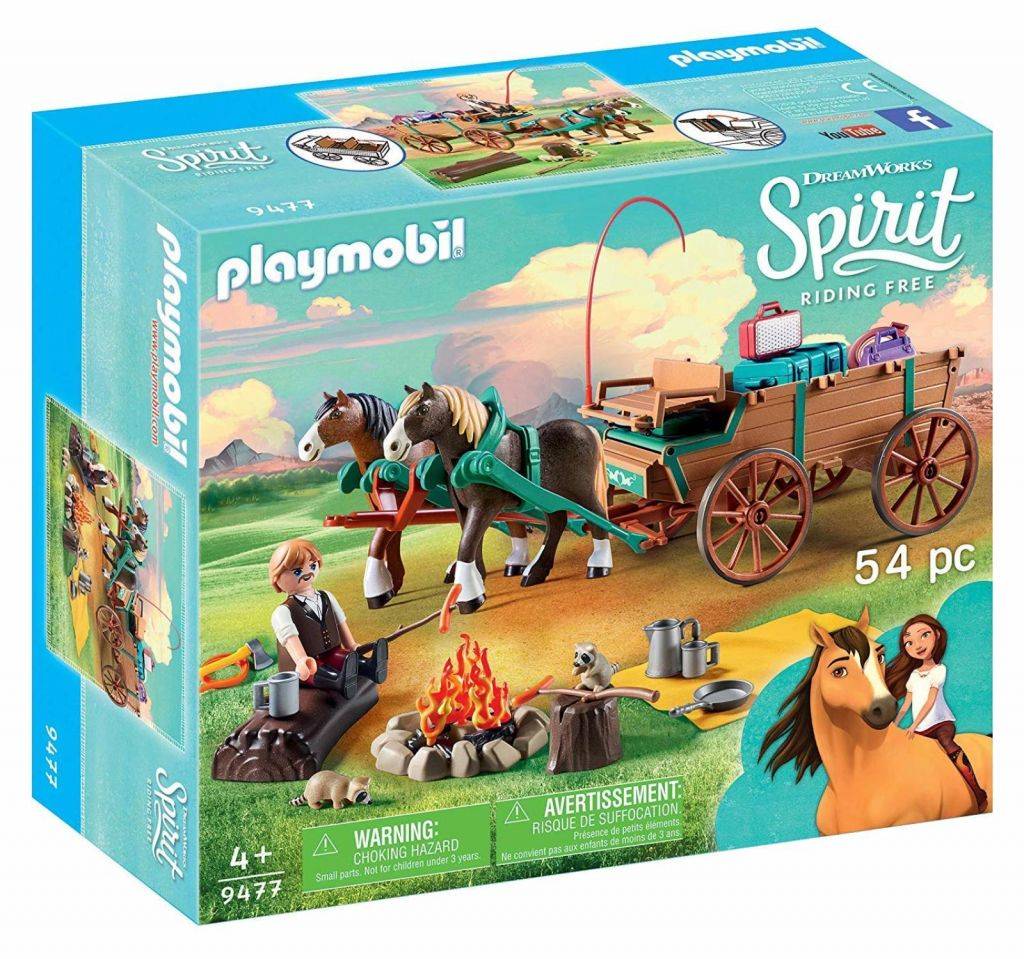 Playmobil 9477 - Father Jim and Coach - Box