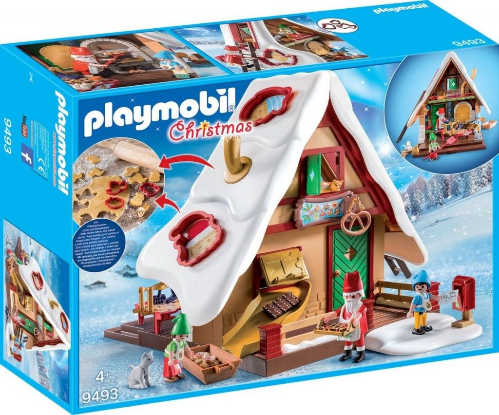 Playmobil 9493 - Christmas Bakery With Cookie Cutters - Box