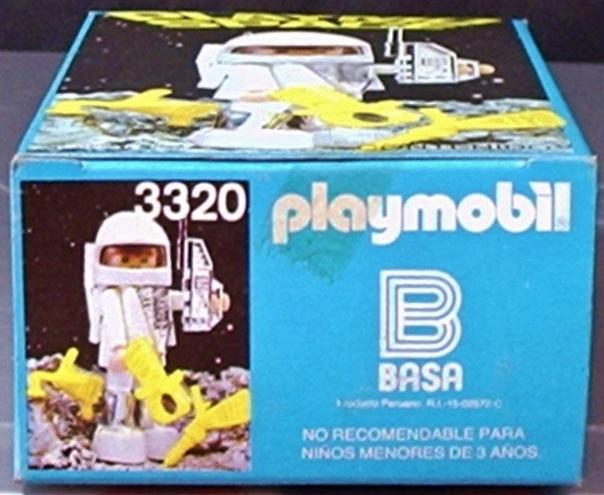 Playmobil 3320v1-ant - Spaceman - Box