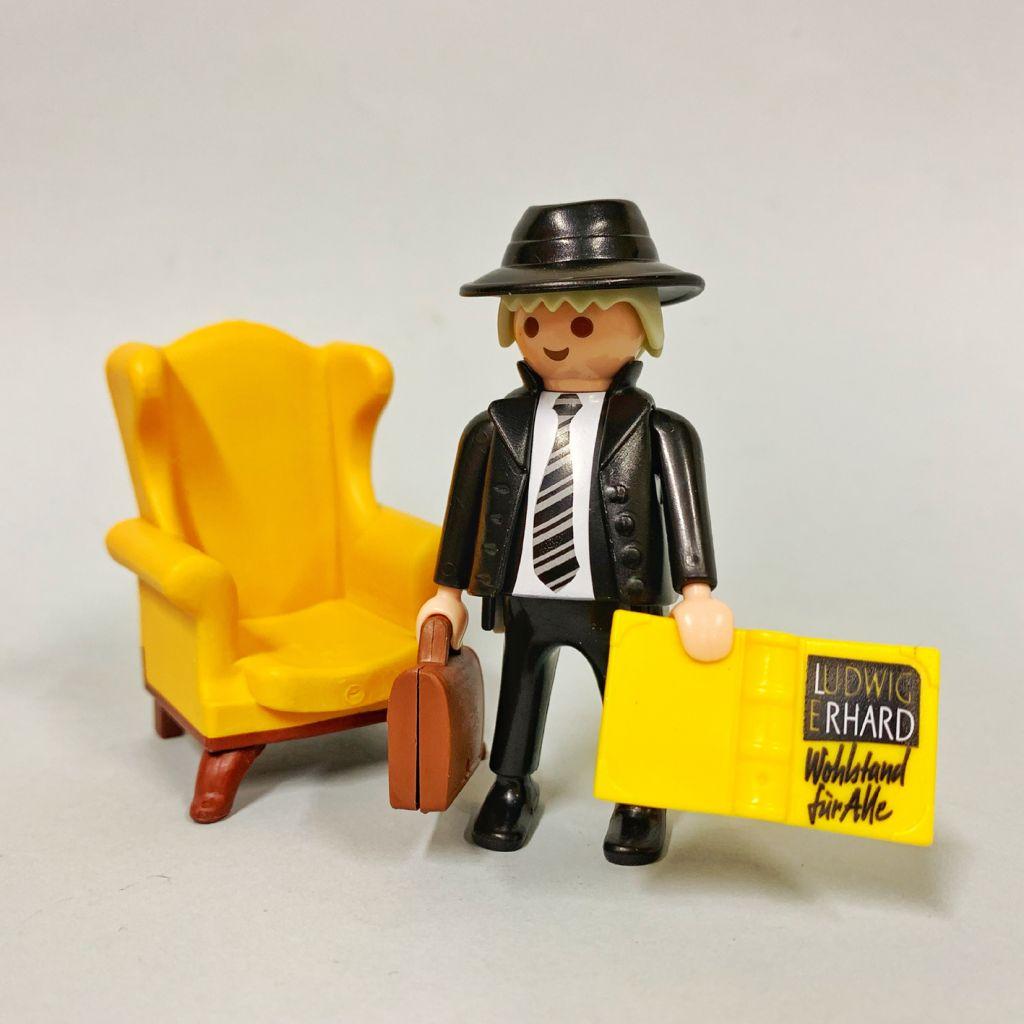 Playmobil 9452-ger - Ludwig Erhard - Back
