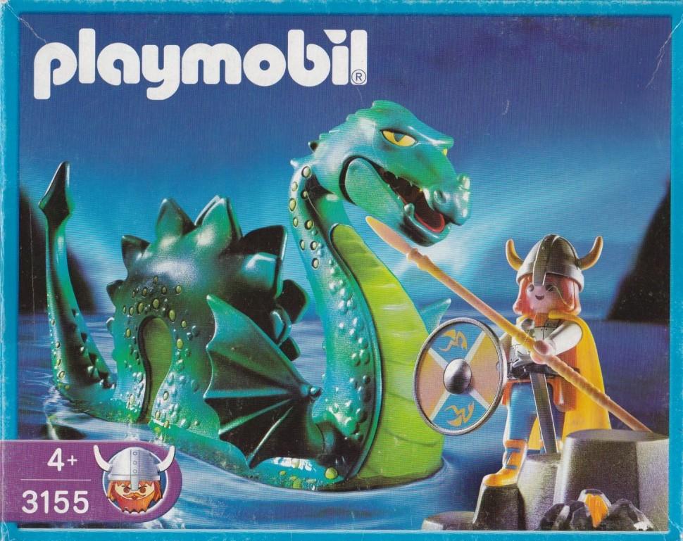 Playmobil 3155s3 - Viking & sea serpent - Box