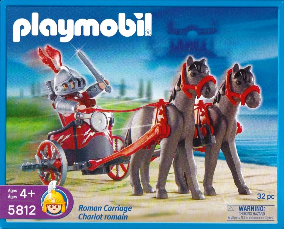 Playmobil 5812 - Roman Chariot - Box