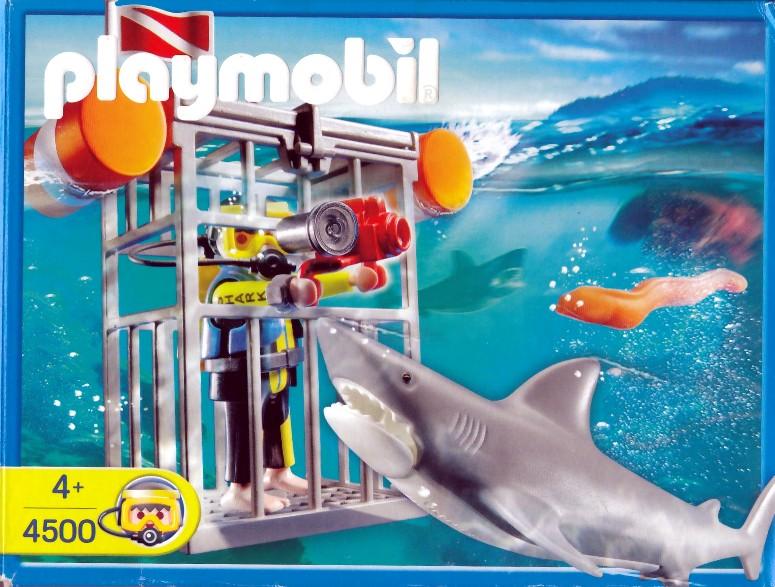 Playmobil 4500 - Shark Diver - Box