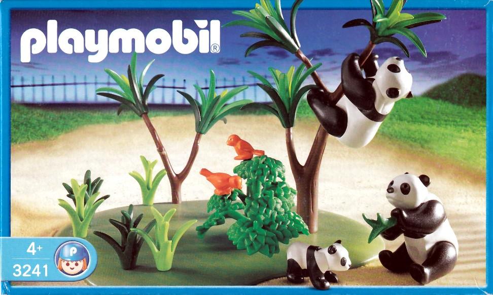 Playmobil 3241s2 - Panda Family - Box