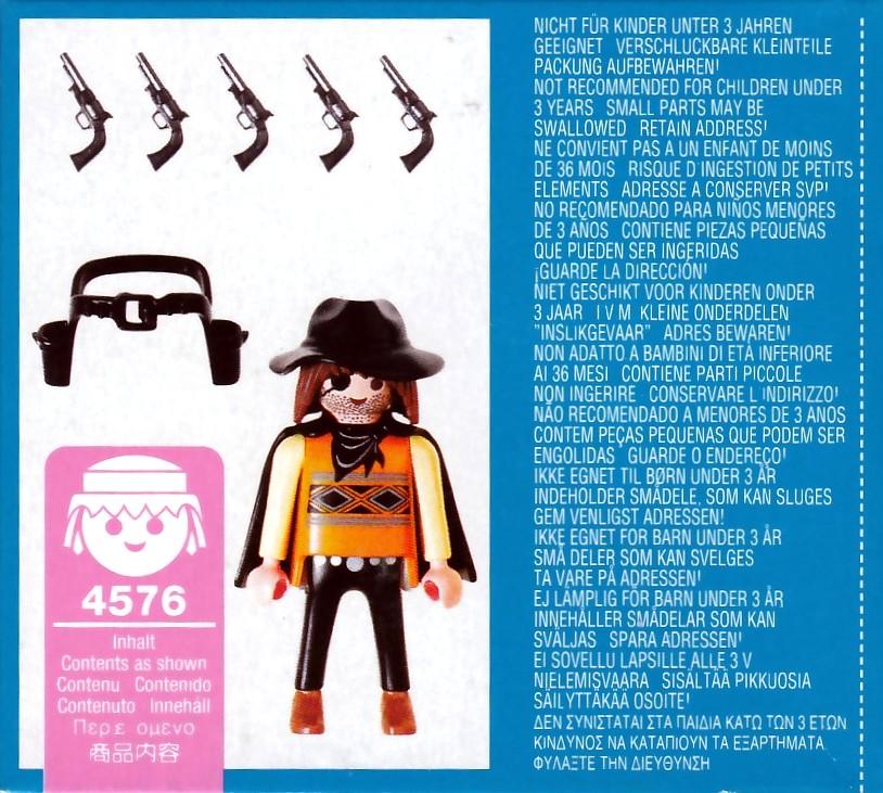 Playmobil 4576 - Bandito - Back