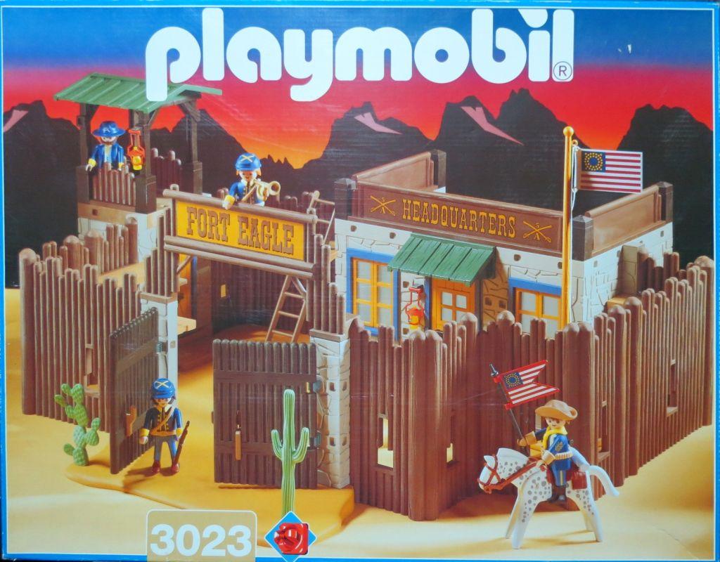 3023//4072 Playmobil-exhibit fort eagle