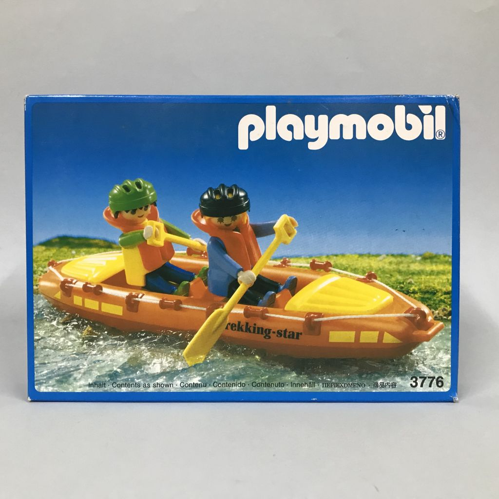 Playmobil 3776 - Fast Water Canoe - Box
