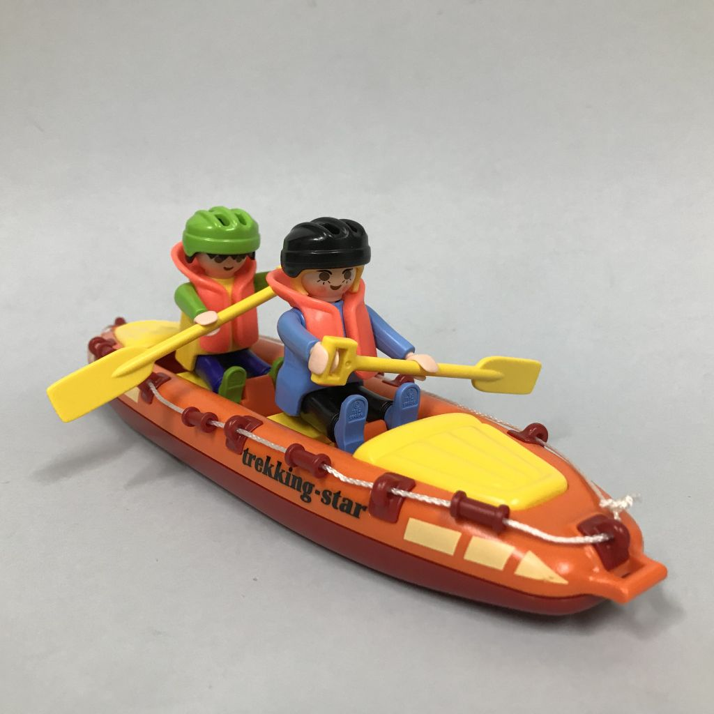 Playmobil 3776 - Fast Water Canoe - Back