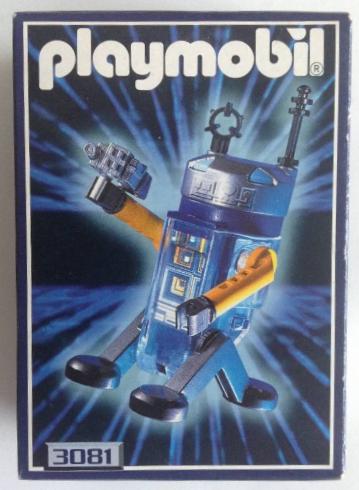Playmobil 3081 - Robot - Box