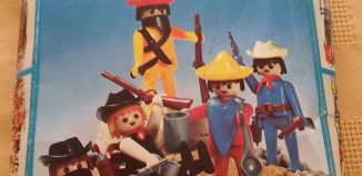 Playmobil - 3241v2-ant - Cowboys and Mexicans