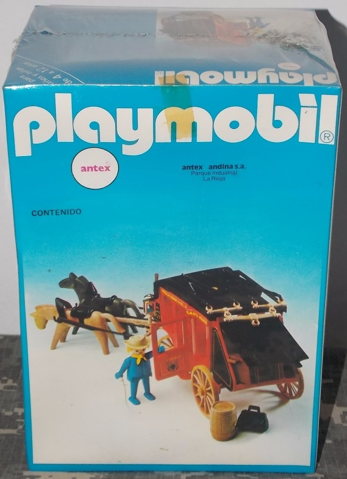 Playmobil 3245-ant - Red stagecoach - Box