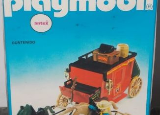 Playmobil - 3245-ant - Red stagecoach