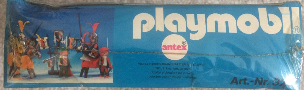 Playmobil 3265-ant - Knights game - Box