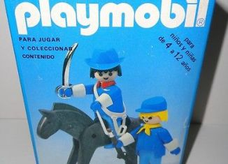 Playmobil - 3582-ant - Union officer and soldier