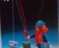 Playmobil - 13574-aur - Fisherman with pneumatic boat