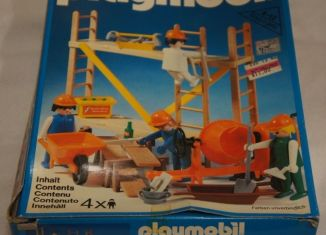 Playmobil - 3492-can - Construction Workers and Scaffold