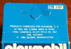 Playmobil 3381-esp - Sheriff - Box