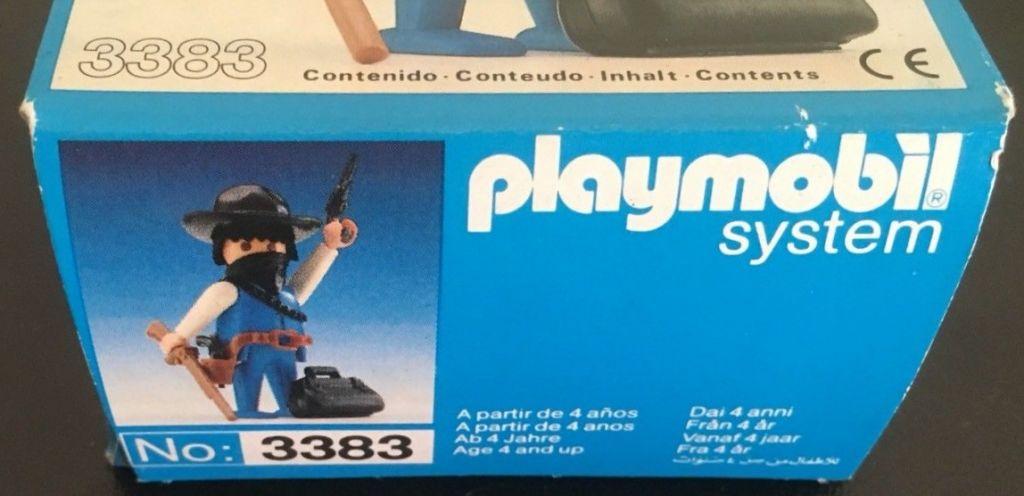 Playmobil 3383v2-esp - Bandit - Box