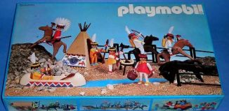 Playmobil - 3406-esp - Indian camp