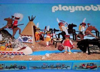 Playmobil - 3406-esp - Indian camp