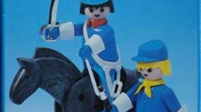 Playmobil - 3582-esp - Union officer and soldier