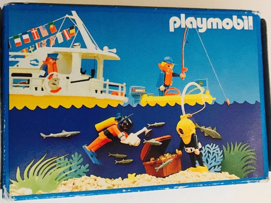 Playmobil 3960-esp - Scuba Diver with camera - Box