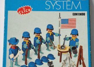 Playmobil - 3242v2-fam - US Cavalry Set