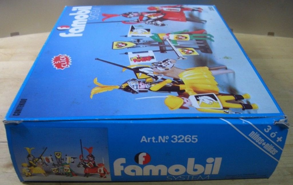 Playmobil 3265-fam - Knights game - Box