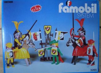 Playmobil - 3265-fam - Knights game