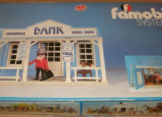 Playmobil - 3422-fam - Bank