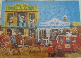 Playmobil - 7805-ita - Western puzzle