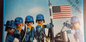 Playmobil - 3242-can - Set Cavalerie US