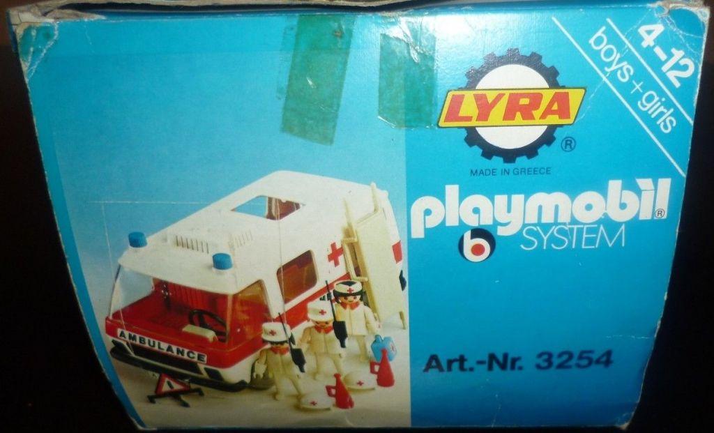 Playmobil 3254-lyr - Krankenwagen - Box