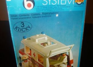 Playmobil - 3254-lyr - Krankenwagen