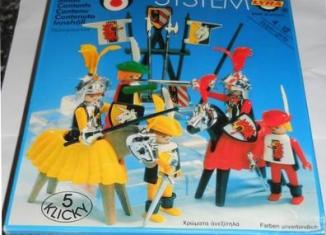 Playmobil - 3265-lyr - Knights game