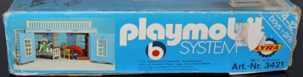 Playmobil 3421v2-lyr - Western House - Box