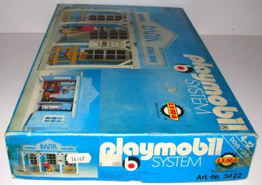 Playmobil 3422v1-lyr - Bank - Box