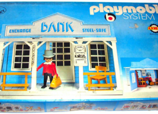 Playmobil - 3422v1-lyr - Bank