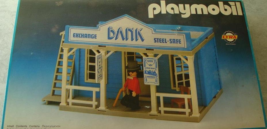 Playmobil 3422v2-lyr - Bank - Box