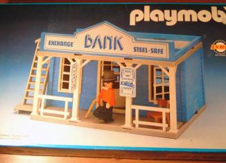 Playmobil - 3422v2-lyr - Bank