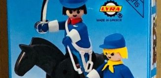 Playmobil - 3582-lyr - Union officer and soldier