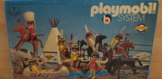 Playmobil - 3406-lyr - Indian camp