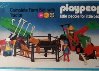 Playmobil - 1780/1-pla - Complete Farm Set with Tractor