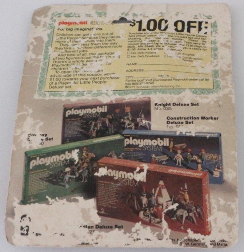 Playmobil 029v3-sch - Indians - Caja