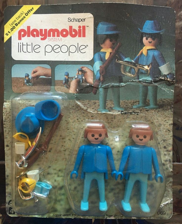 Playmobil 069-sch - Cavalry Rack Pac - Box