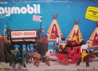 Playmobil - 49-59977v1-sch - Fort Union Grand Deluxe