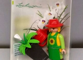 Playmobil - 30818372-ger - Planter Lechuza with flower pot and watering can