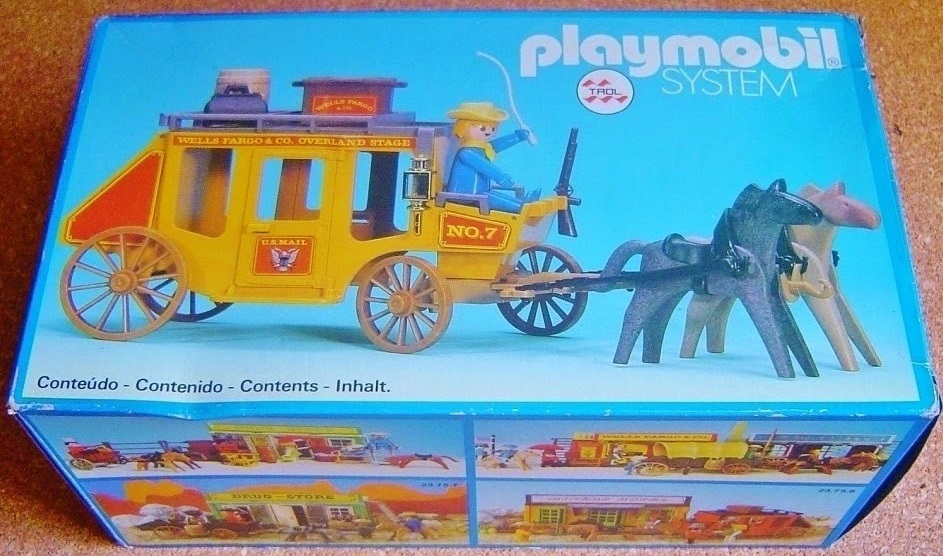 Playmobil 23.24.5-trol - Yellow stagecoach - Box