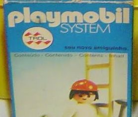 Playmobil - 23.31.1-trol - Worker with ladder