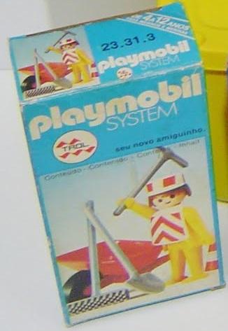 Playmobil 23.31.3-trol - Road worker - Box
